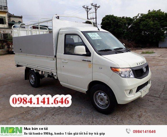 Xe tải kenbo 990kg, kenbo 1 tấn giá tốt hỗ trợ trả góp 5