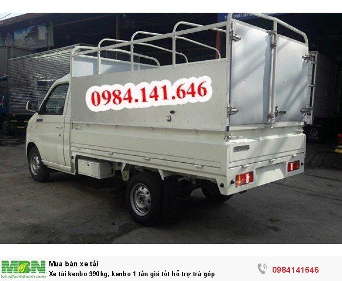 Xe tải kenbo 990kg, kenbo 1 tấn giá tốt hỗ trợ trả góp 6