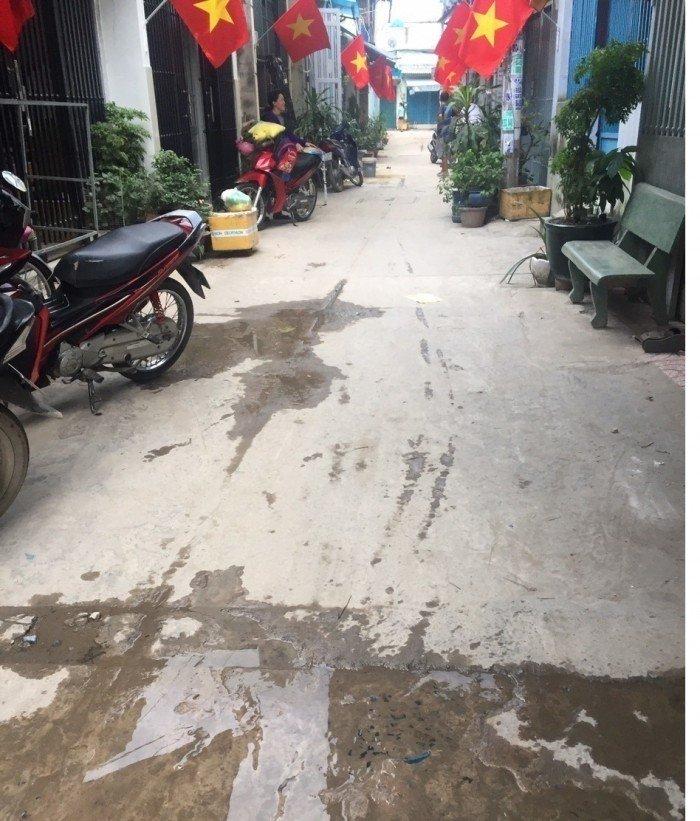 Bán nhà sau trường Kim Đồng đường Liên khu 4-5, Bình Hưng Hòa B
