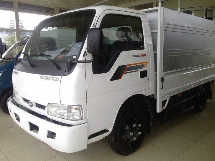 Bán xe tải 2.4T Thaco Kia K165 Mui Bạt tại hải phòng- hỗ trợ trả góp