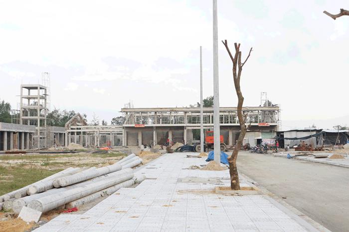 Ki-ot khu Phố chợ Điện Nam Bắc Quảng Nam