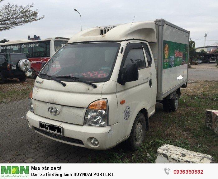 Bán xe tải đông lạnh HUYNDAI PORTER II