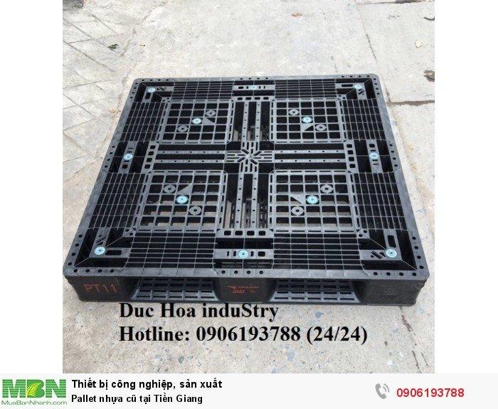 Bán pallet nhựa cũ tại Tiền Giang - Liên hệ: 0906193788 (Nguyễn Hòa 24/24)
