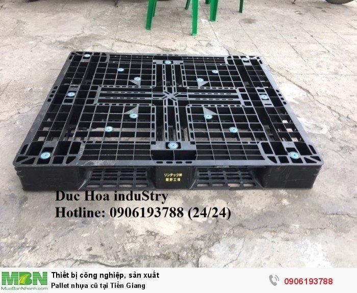 Cung cấp pallet nhựa cũ tại Tiền Giang - Liên hệ: 0906193788 (Nguyễn Hòa 24/24)