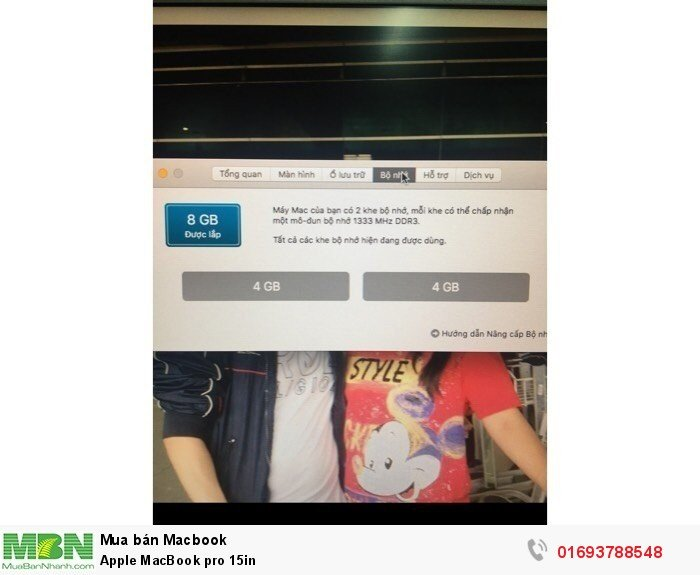 Apple MacBook pro 15in1
