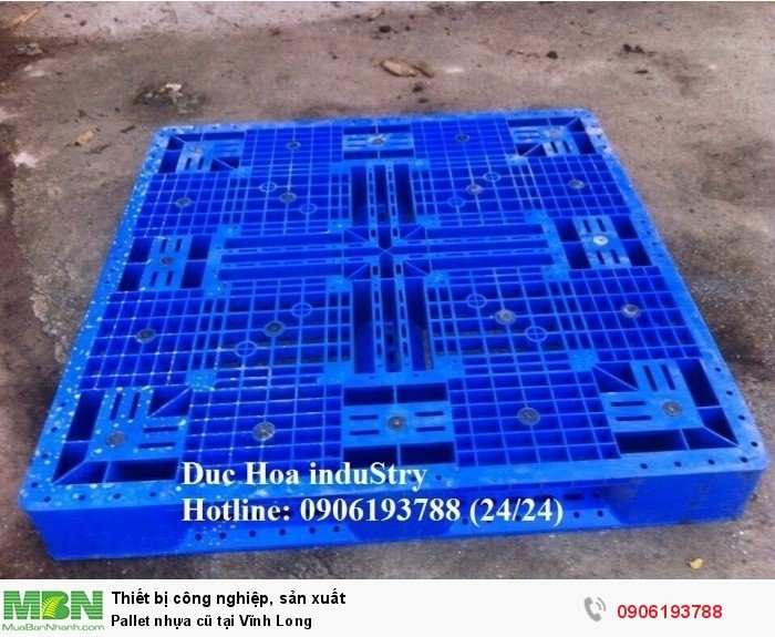 Pallet nhựa cũ tại Vĩnh Long - Liên hệ: 0906193788 (Nguyễn Hòa 24/24)