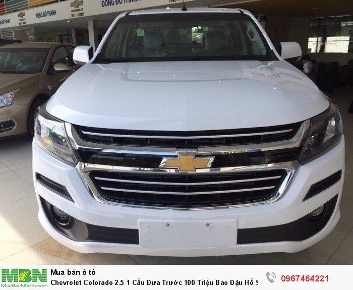 Chevrolet Colorado 2.5 1 Cầu Đưa Trước 100 Triệu Bao Đậu Hồ Sơ 0