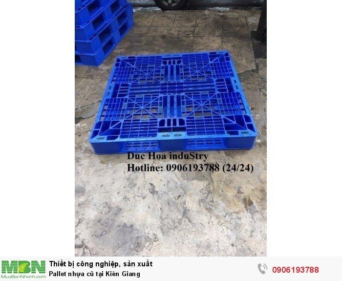 Pallet nhựa cũ tại Kiên Giang - Liên hệ: 0906193788 (Nguyễn Hòa 24/24)