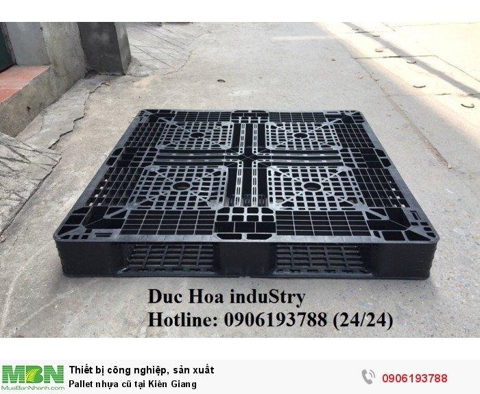 Pallet nhựa cũ tại Kiên Giang, giao hàng toàn quốc- Liên hệ: 0906193788 (Nguyễn Hòa 24/24)