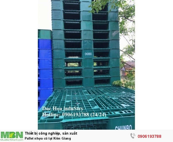 Pallet nhựa cũ tại Kiên Giang, miễn phí vận chuyển số lượng lớn - Liên hệ: 0906193788 (Nguyễn Hòa 24/24)