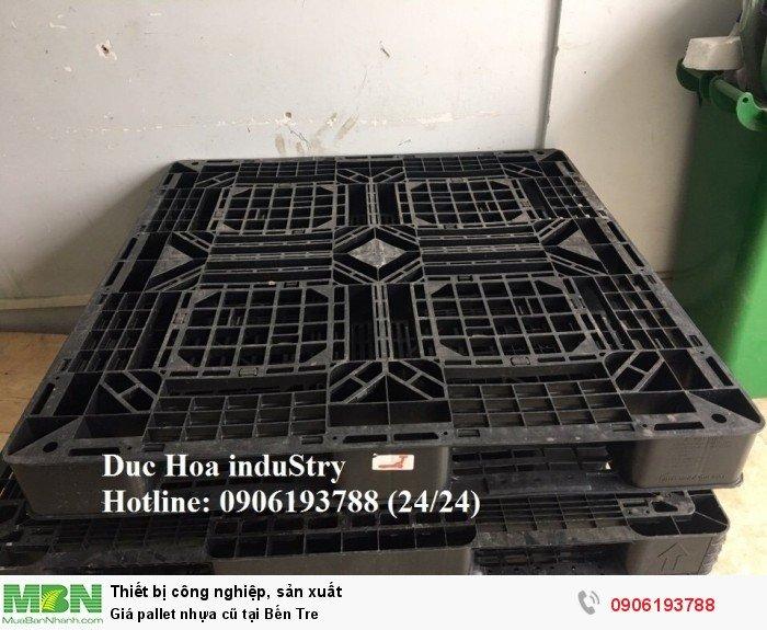 Giá pallet nhựa cũ tại Bến Tre - Liên hệ: 0906193788 (Nguyễn Hòa 24/24)