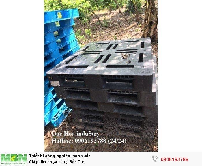Bán pallet nhựa cũ giá rẻ tại Bến Tre, giao hàng toàn quốc - Liên hệ: 0906193788 (Nguyễn Hòa 24/24)