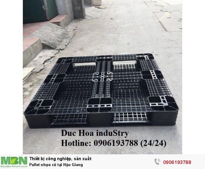 Bán pallet nhựa cũ giá rẻ tại Hậu Giang - Liên hệ: 0906193788 (Nguyễn Hòa 24/24)