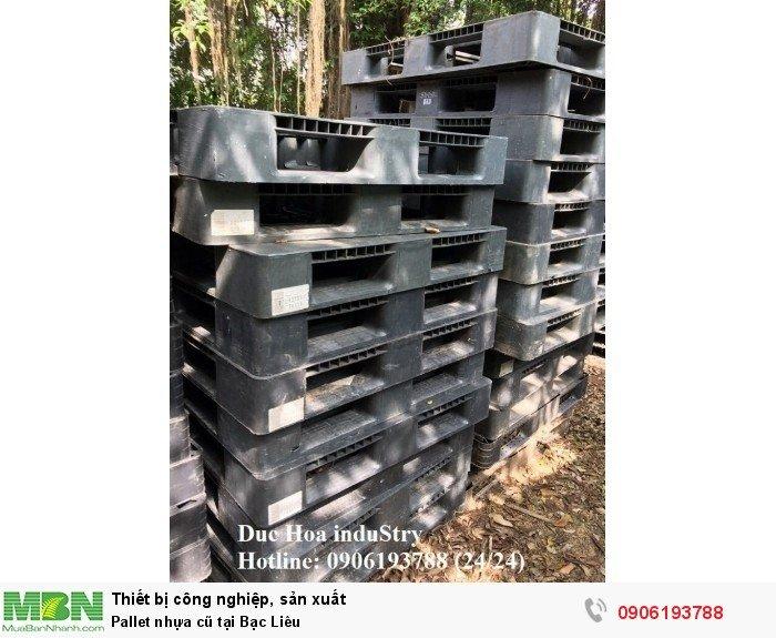 Pallet nhựa cũ tại Bạc Liêu, giao hàng toàn quốc - Duc Hoa induStry 0906193788 (24/24)