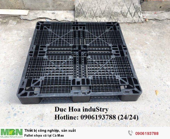 Bán pallet nhựa cũ tại Cà Mau, giao hàng toàn quốc - Duc Hoa induStry 0906193788 (24/24)