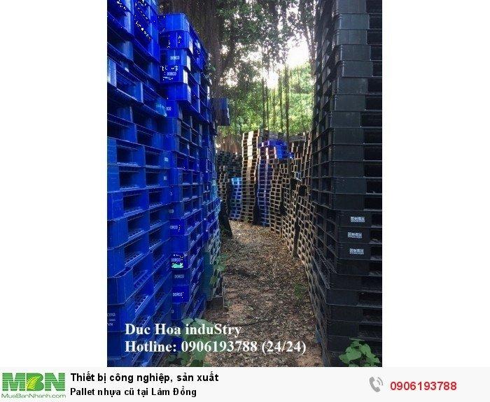 Bán pallet nhựa cũ tại Lâm Đồng, giao hàng toàn quốc - Liên hệ: 0906193788 Duc Hoa InduStry