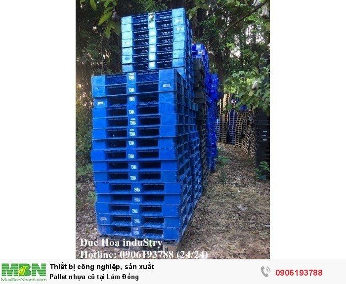 Bán pallet nhựa cũ tại Lâm Đồng, miễn phí vận chuyển số lượng lớn - Liên hệ: 0906193788 Duc Hoa InduStry