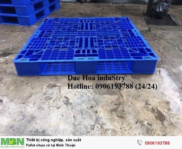 Pallet nhựa cũ tại Ninh Thuận, giao hàng toàn quốc - Liên hệ: 0906193788 Duc Hoa induStry 24/24