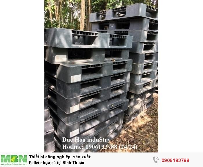 Bán pallet nhựa cũ tại Bình Thuận, giao hàng toàn quốc - Duc Hoa induStry 0906193788 (24/24)