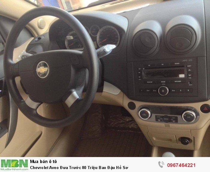 Chevrolet Aveo Đưa Trước 80 Triệu Bao Đậu Hồ Sơ 3