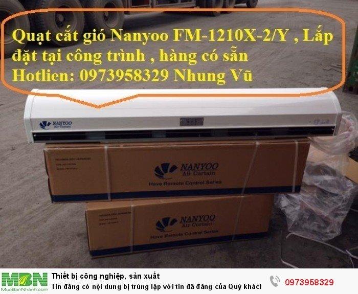Quạt Cắt Gió Nanyoo Fm - 1209x-2/Y - quạt cắt gió , chắn bụi , côn trùng16