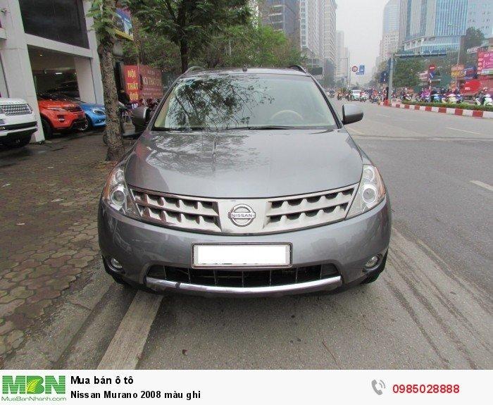 Nissan Murano sản xuất năm 2008 Số tự động Động cơ Xăng