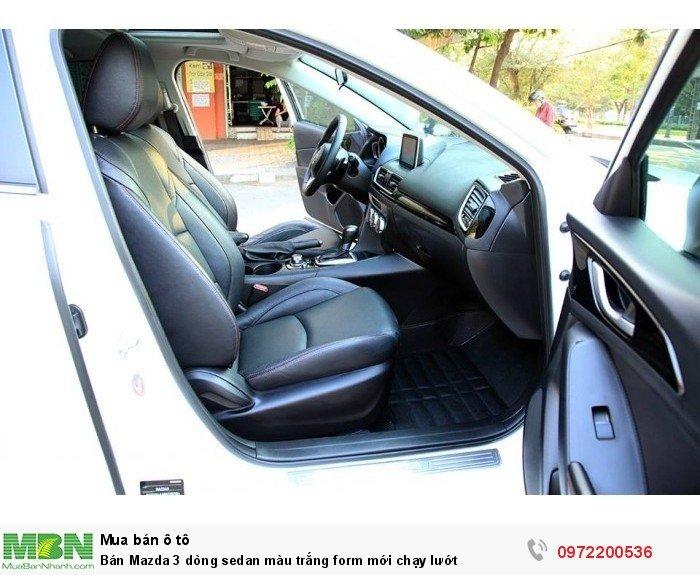 Bán Mazda 3 dòng sedan màu trắng form mới chạy lướt 6