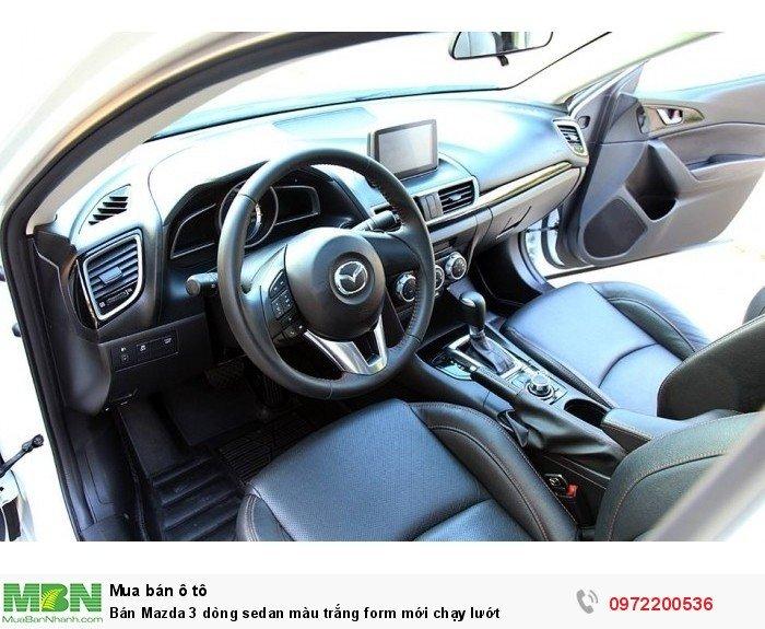 Bán Mazda 3 dòng sedan màu trắng form mới chạy lướt 7