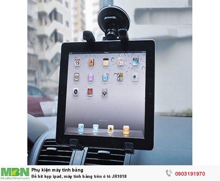 Đế hít kẹp ipad, máy tính bảng trên ô tô JR10181