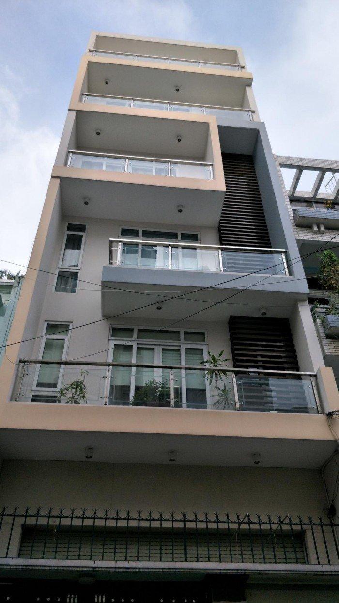Bán nhà HXH đường Nguyễn Văn Đậu, F6, Q.BT(4x17) 3 lầu.