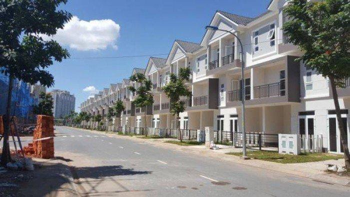Bán 20 căn nhà phố 1 trệt 2 lầu, dt: 5x15m