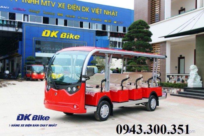 Xe điện kiểu bus du lịch chở khách 14 chỗ tại Hà Nội