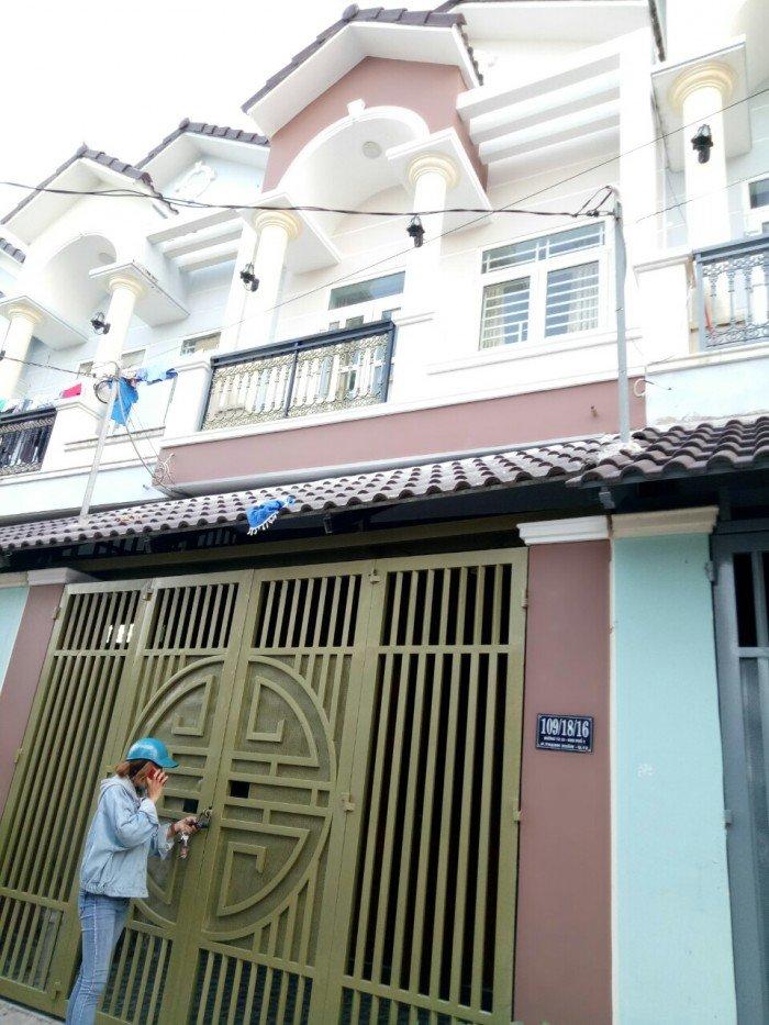 Bán nhà Vạn Xuân mới toanh ngay trung tâm Thạnh Xuân Q12