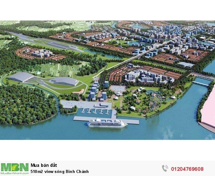 510m2 view sông Bình Chánh