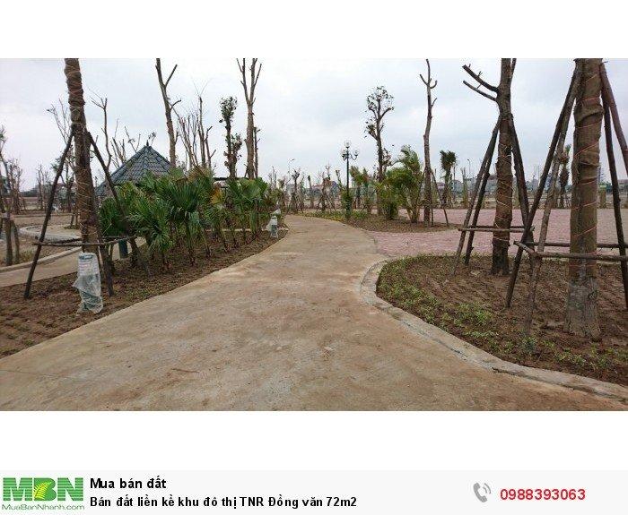 Bán đất liền kề khu đô thị TNR Đồng văn 72m2