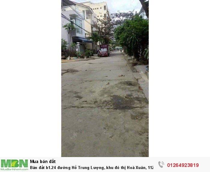 Bán đất b1.24 đường Hồ Trung Lượng, khu đô thị Hoà Xuân, 112,5m2
