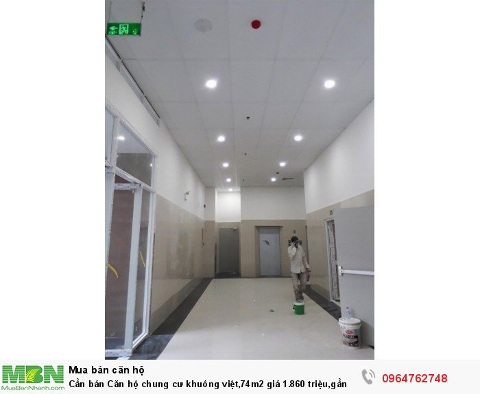 Cần bán Căn hộ chung cư khuông việt,74m2 giá 1.860 triệu,gần ngay Đầm Sen,vào ở ngay