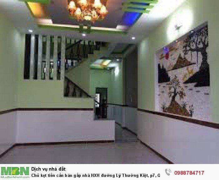 Chủ kẹt tiền cần bán gấp nhà HXH đường Lý Thường Kiệt, p7, Quận Gò Vấp.