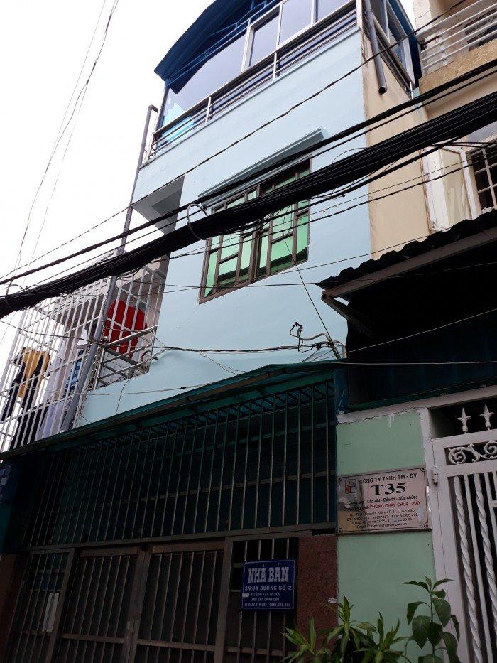 Bán nhà cách hxh 10m đường Nguyễn Trãi Phường Nguyễn Cư Trinh Q1 3x17,73