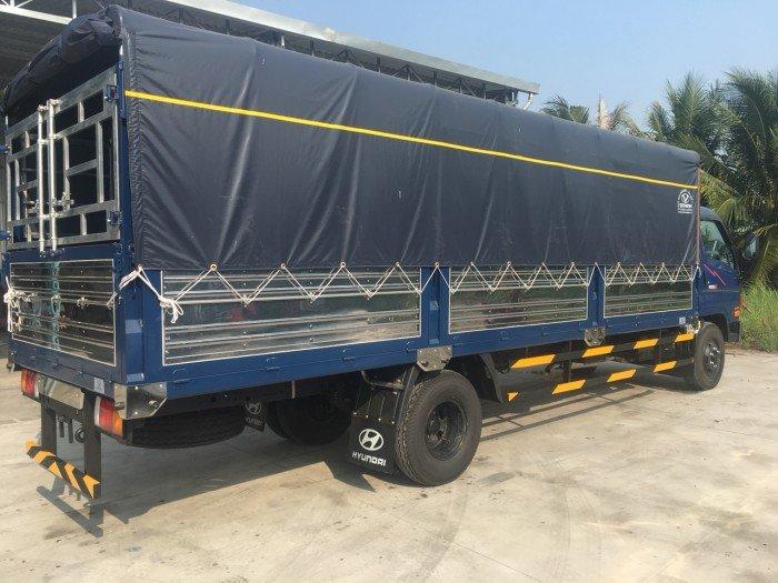 Xe tải Hyundai HD120SL 8,1 tấn thùng dài 6m3 tại Sóc Trăng, Bạc Liêu, Vĩnh Long, Hậu Giang