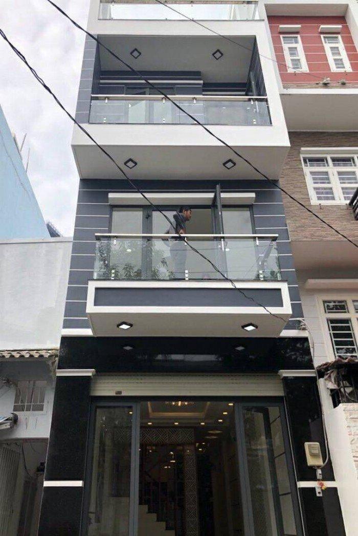 Bán  nhà lầu Quận 7  hẻm xe hơi 502 đường Huỳnh Tấn Phát Phường Bình Thuận Quận 7