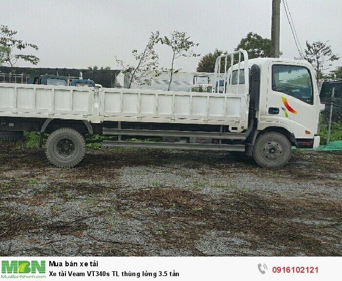 Xe tải Veam VT340s TL thùng lửng 3.5 tấn