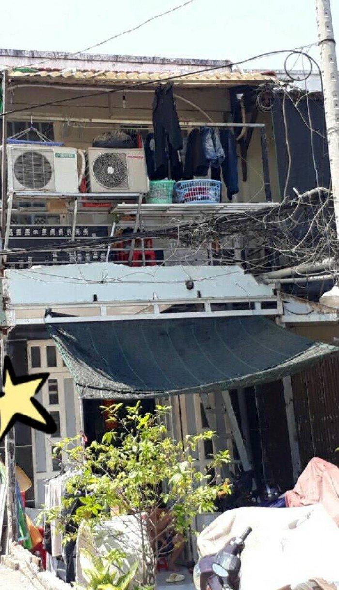 Bán nhà lầu mặt tiền hẻm 35 Cao lỗ phường 4 quận 8, Tp.HCM