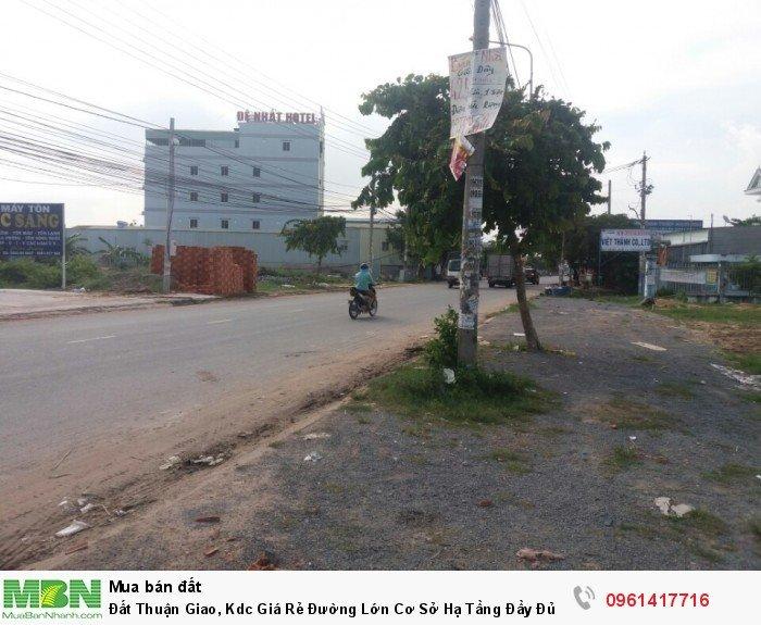 Đất Thuận Giao, Kdc Giá Rẻ Đường Lớn Cơ Sở Hạ Tầng Đầy Đủ