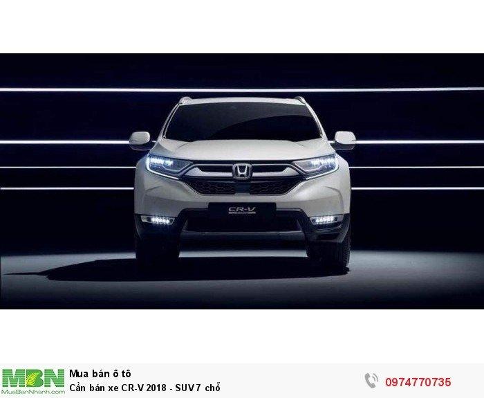 Cần bán xe CR-V 2018 - SUV 7 chỗ 0