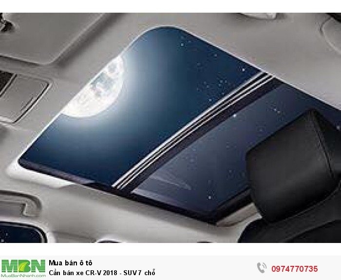 Cần bán xe CR-V 2018 - SUV 7 chỗ 1