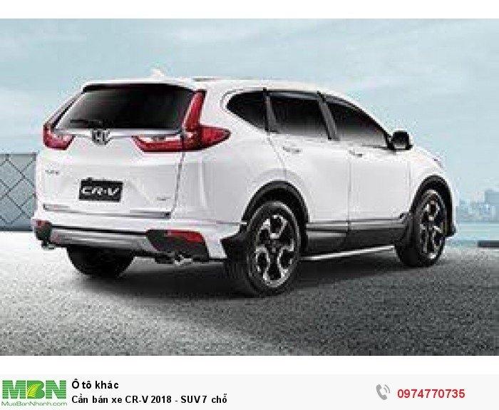 Cần bán xe CR-V 2018 - SUV 7 chỗ 2