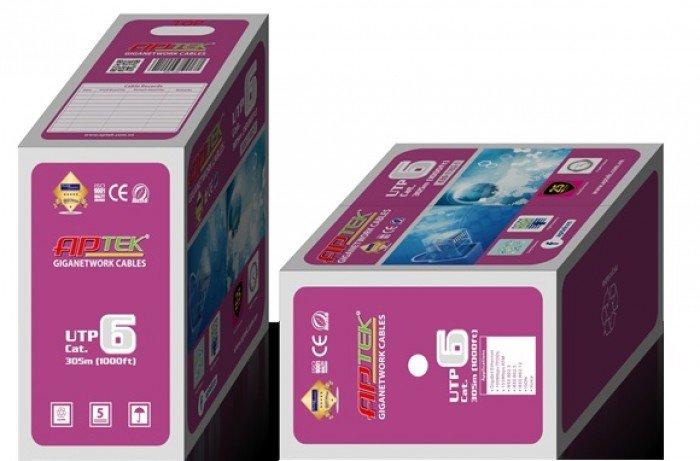 Phân phối cáp mạng aptek CAT5 UTP 305m giá rẻ tại Tân Phú