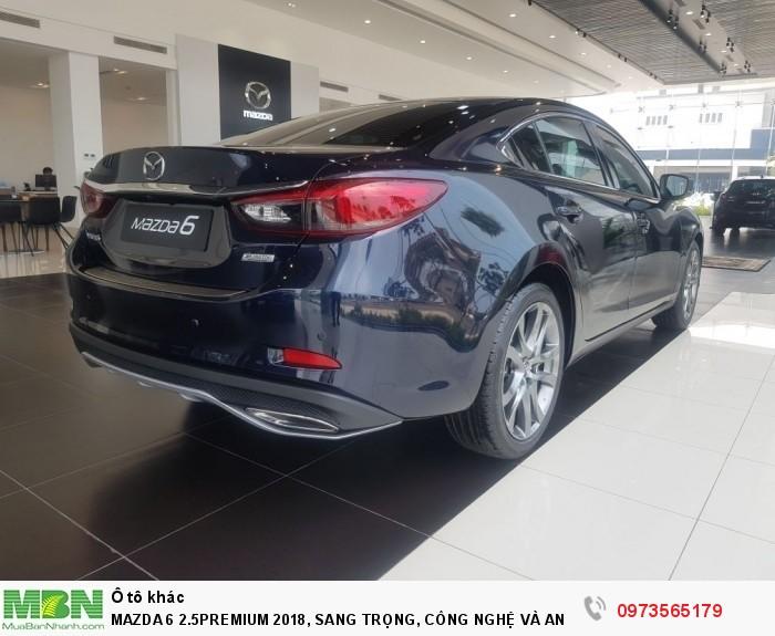 Mazda 6 2.5premium 2018, Sang Trọng, Công Nghệ Và An Toàn