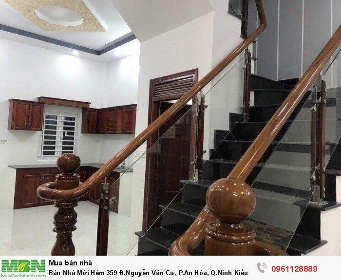 Bán Nhà Mới Hẻm 359 Đ.Nguyễn Văn Cư, P.An Hòa, Q.Ninh Kiều 4x20m Thổ Cư